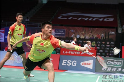 Cai Yun and Fu haiFeng