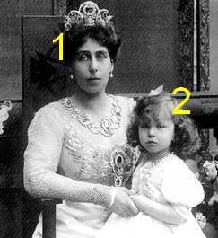 Grand Duchess Victoria Feodorovna,  Grand duchess Maria Kirillovna of Russia
