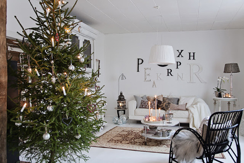 siuntio olohuone 12 1 Scandinavian Christmas Style from Mrs Hardy