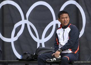 Japanese coach Norio Sasaki