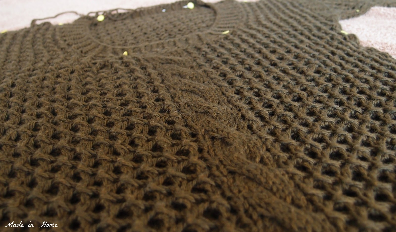 Knit Up Stitches Around Neckline : Made in Home: Pull Isa - the end {Knitting}