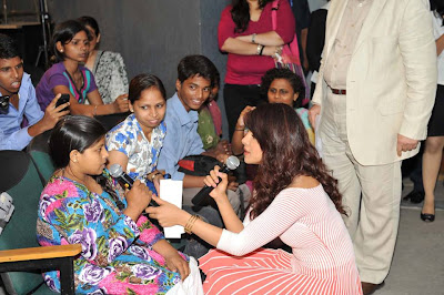 Priyanka Chopra at The UN's global survey for a better world.