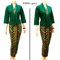 Baju Setelan Batik Gamis Prada