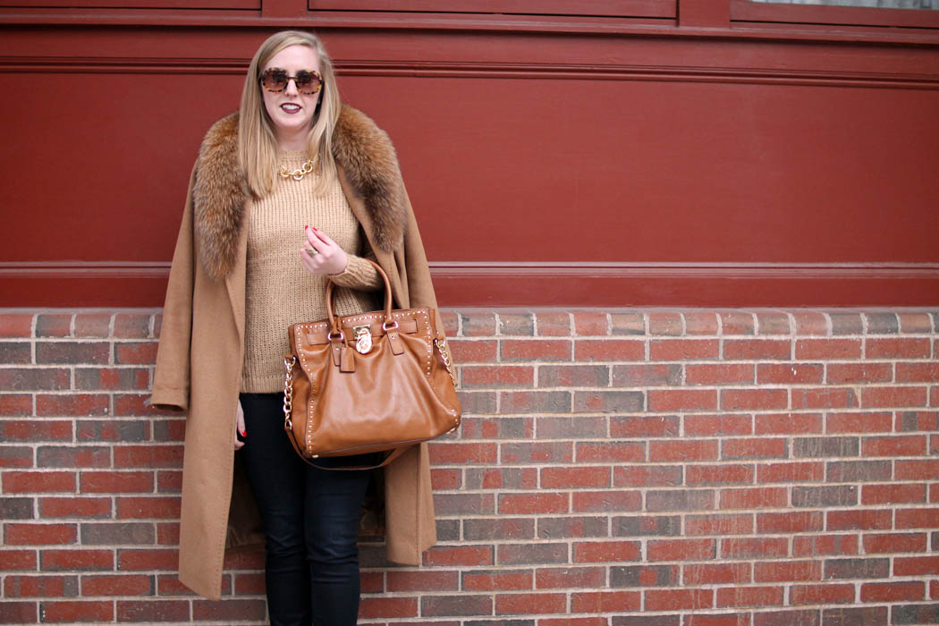 camel on camel outfit, boston style blogger, charlestown navy yard, boston blogger outfits style,