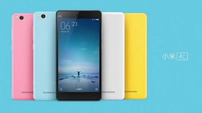 Xiaomi Mi 4c ஸ்மார்ட் போன் வர்ணம்