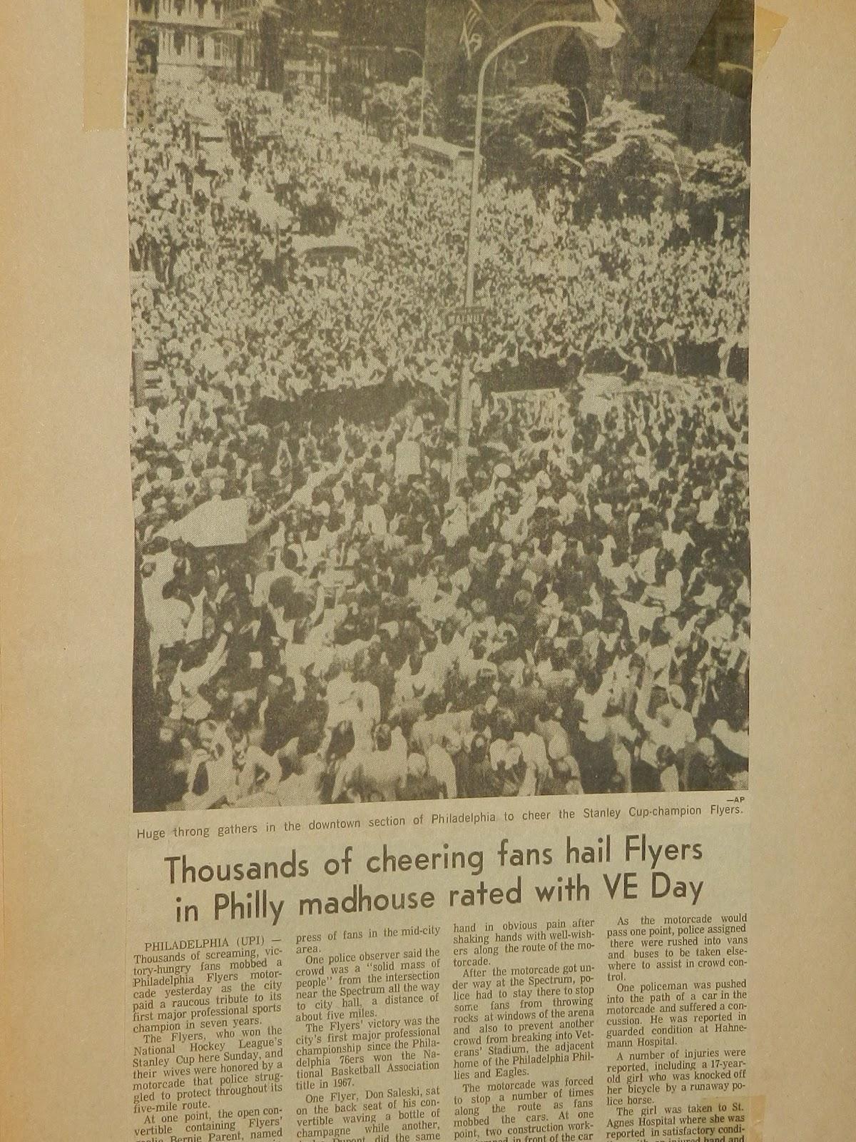 flyers 74 parade