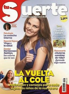 Revista Tu Suerte de Septiembre