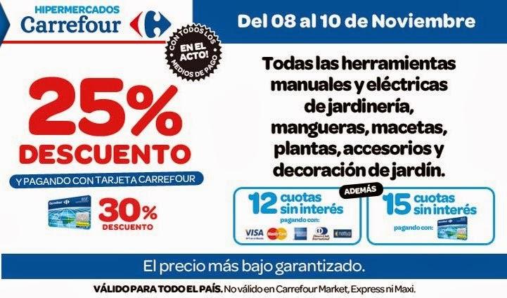 Ofertas y promos en argentina ofertas carrefour fin de semana for Manguera jardin carrefour