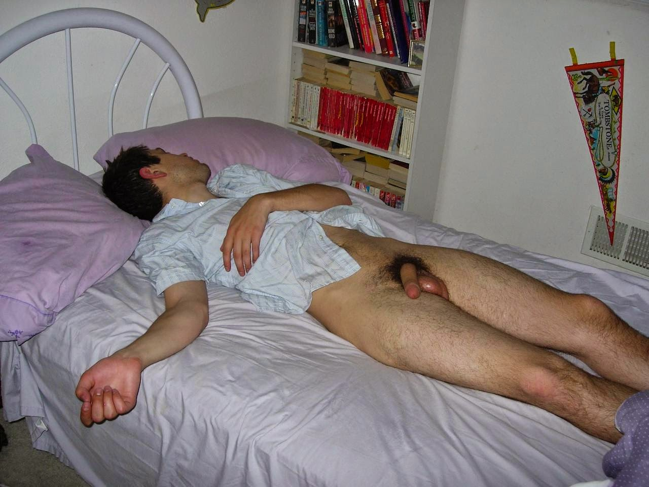 Boys Naked While Asleep