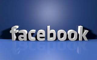 3D Facebook Logo Text HD Wallpaper