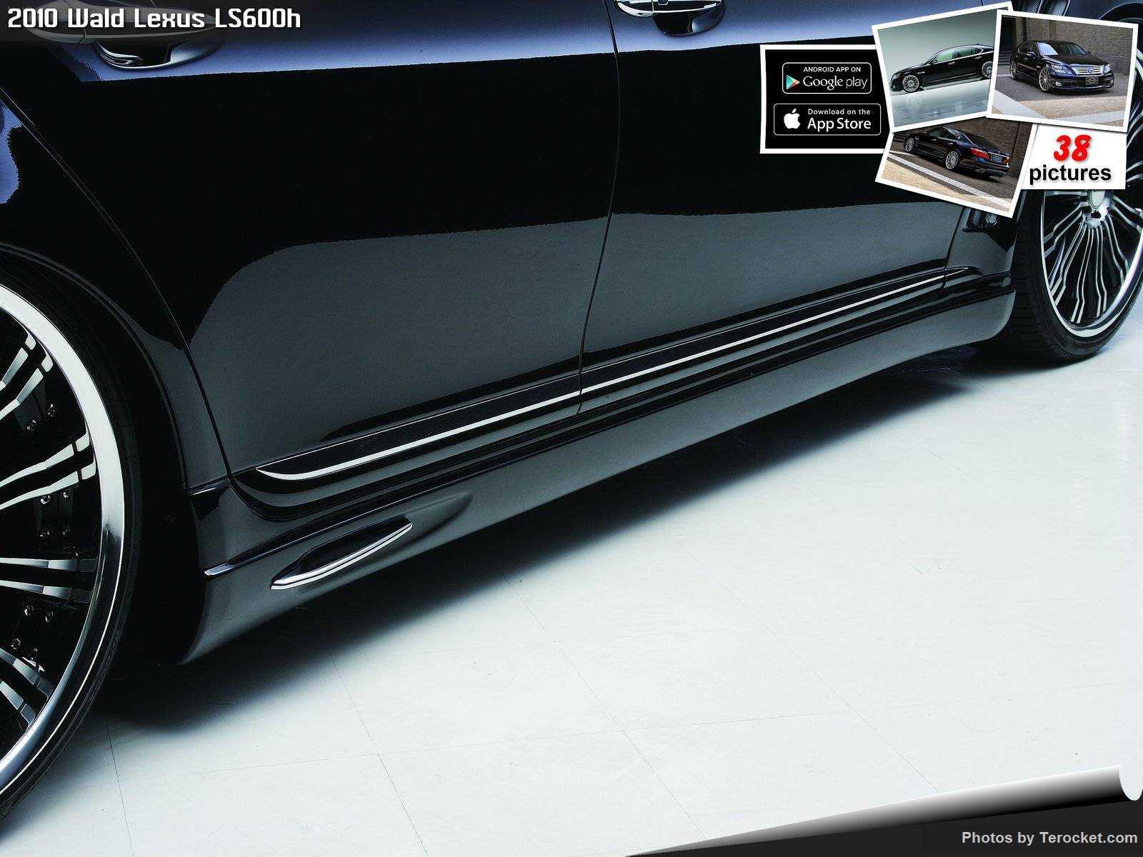Hình ảnh xe độ Wald Lexus LS600h 2010 & nội ngoại thất