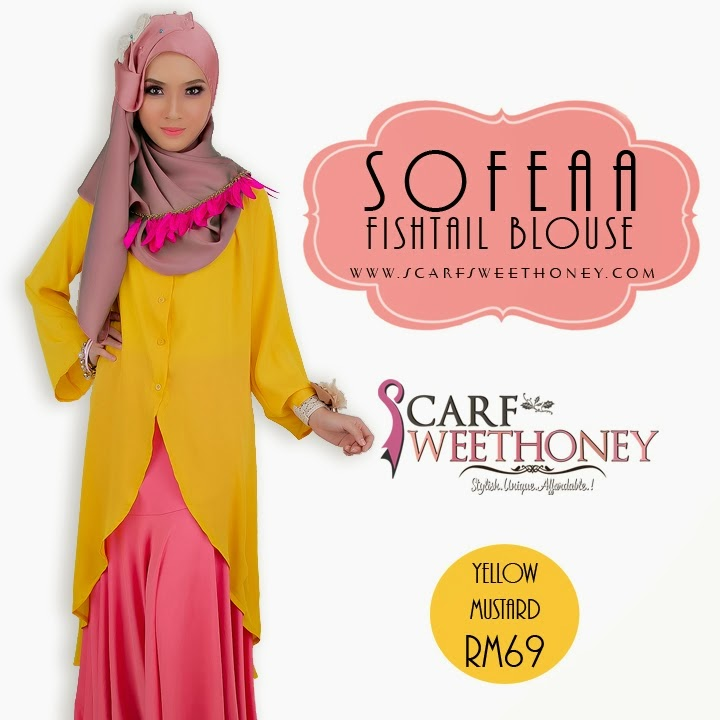 SOFEAA Fishtail Blouse