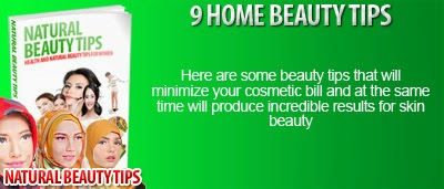 9 Home Beauty Tips