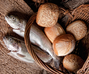 Into thy calm homily 28 eyes on the prize as preached for Loaves and fishes