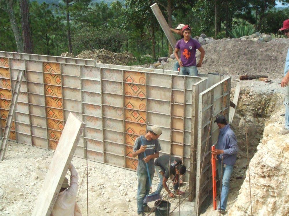 sowers4pastors construction of basement walls step 1