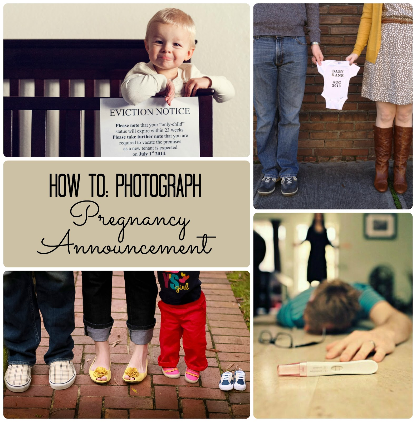 the pieper life Photographing Pregnancy Annoucement – First Baby Announcements