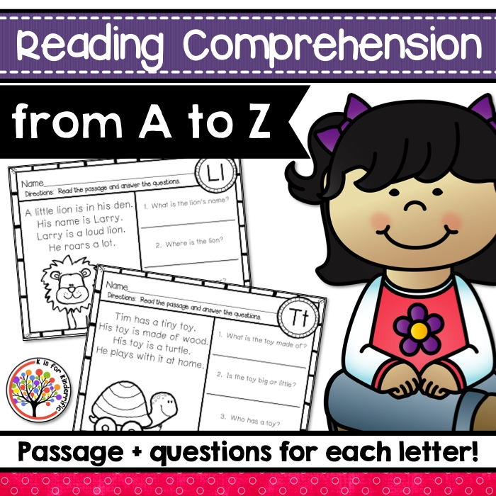 Reading Comprehension A to Z