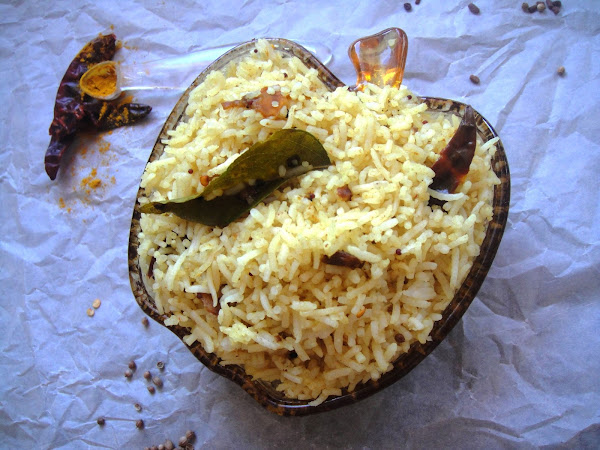 Tamarind Rice - My Version