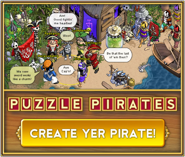 Game : Puzzle Pirates