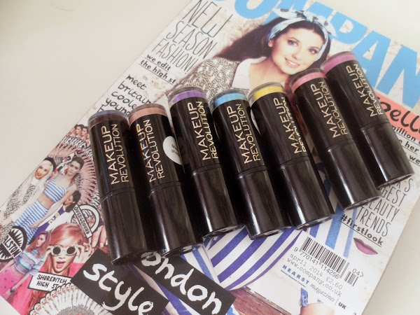 Makeup Revolution Lipsticks ♥