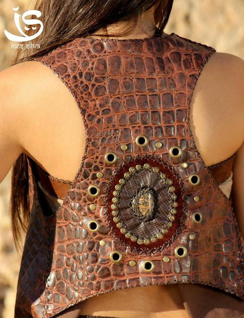 IS.Art - Coletes, bolsas e chapeus em couro e pele