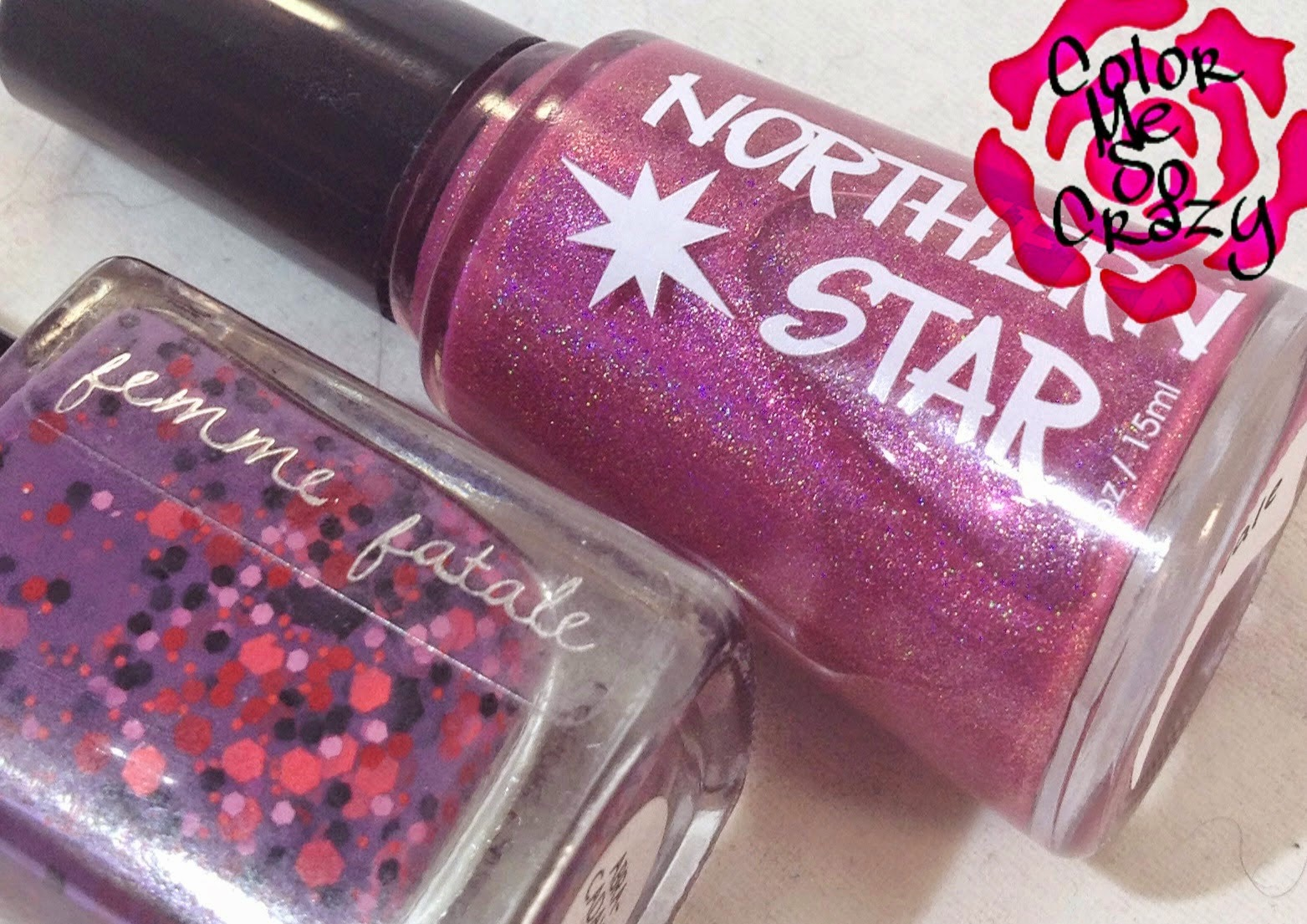 northern star polish, femme fatale, wishes of a blue eyed girl, buddy post