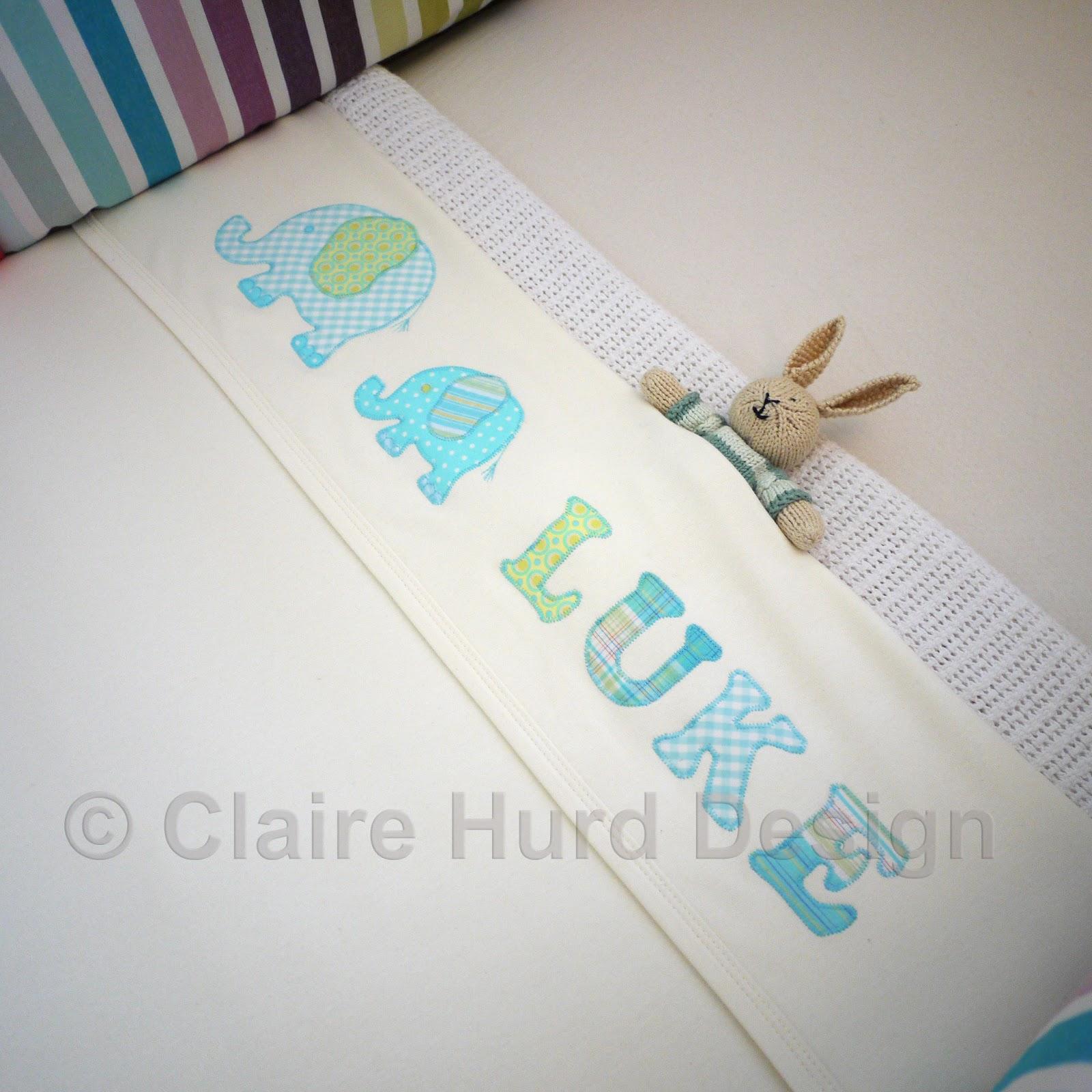 Baby Blanket Personalised