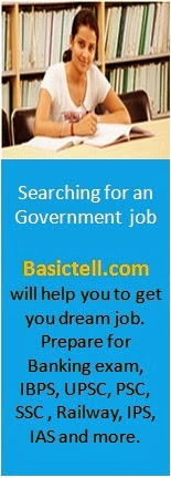 prepare for government jobs in Basictell.com