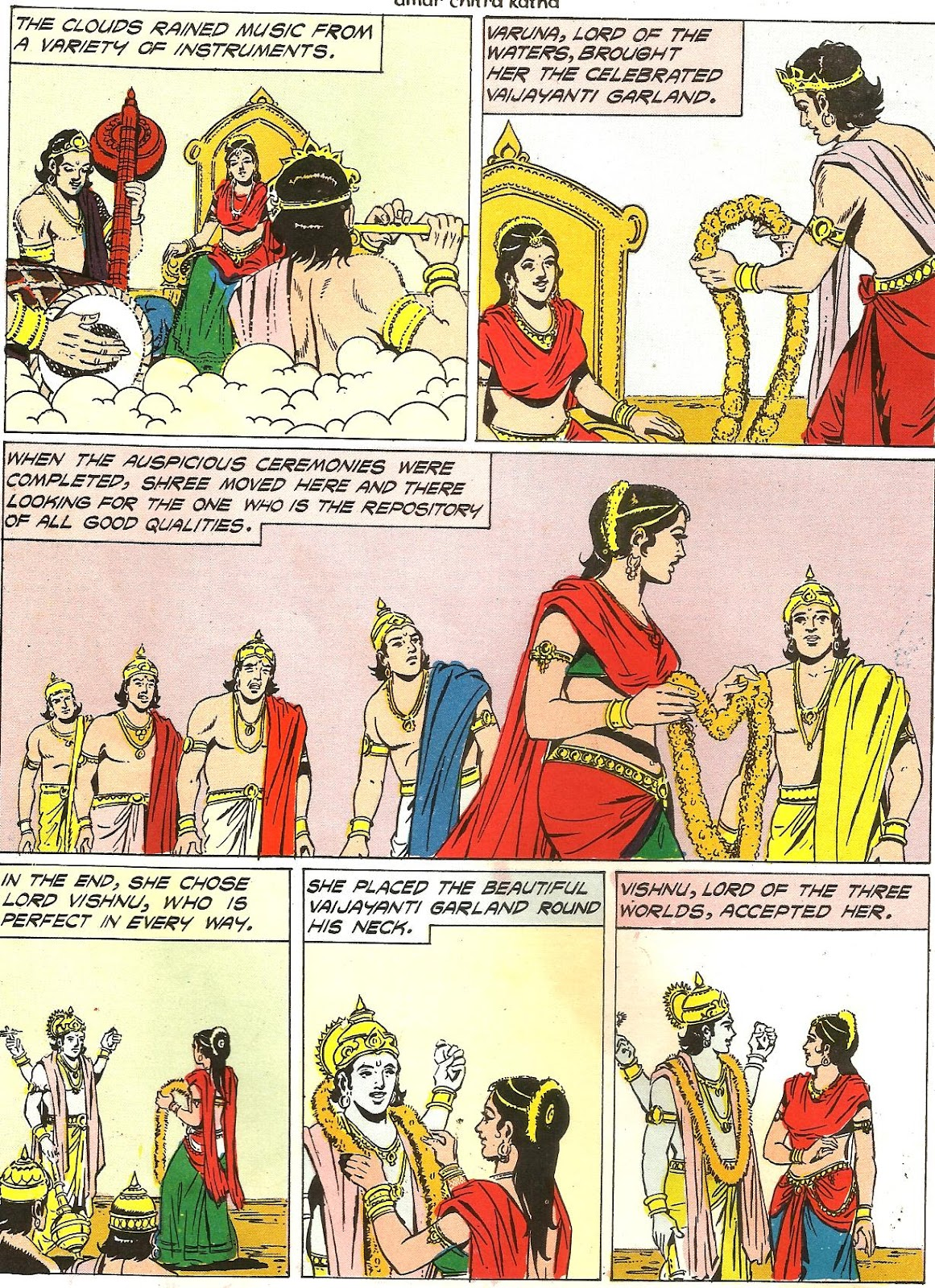 samudra manthan coloring pages - photo#3