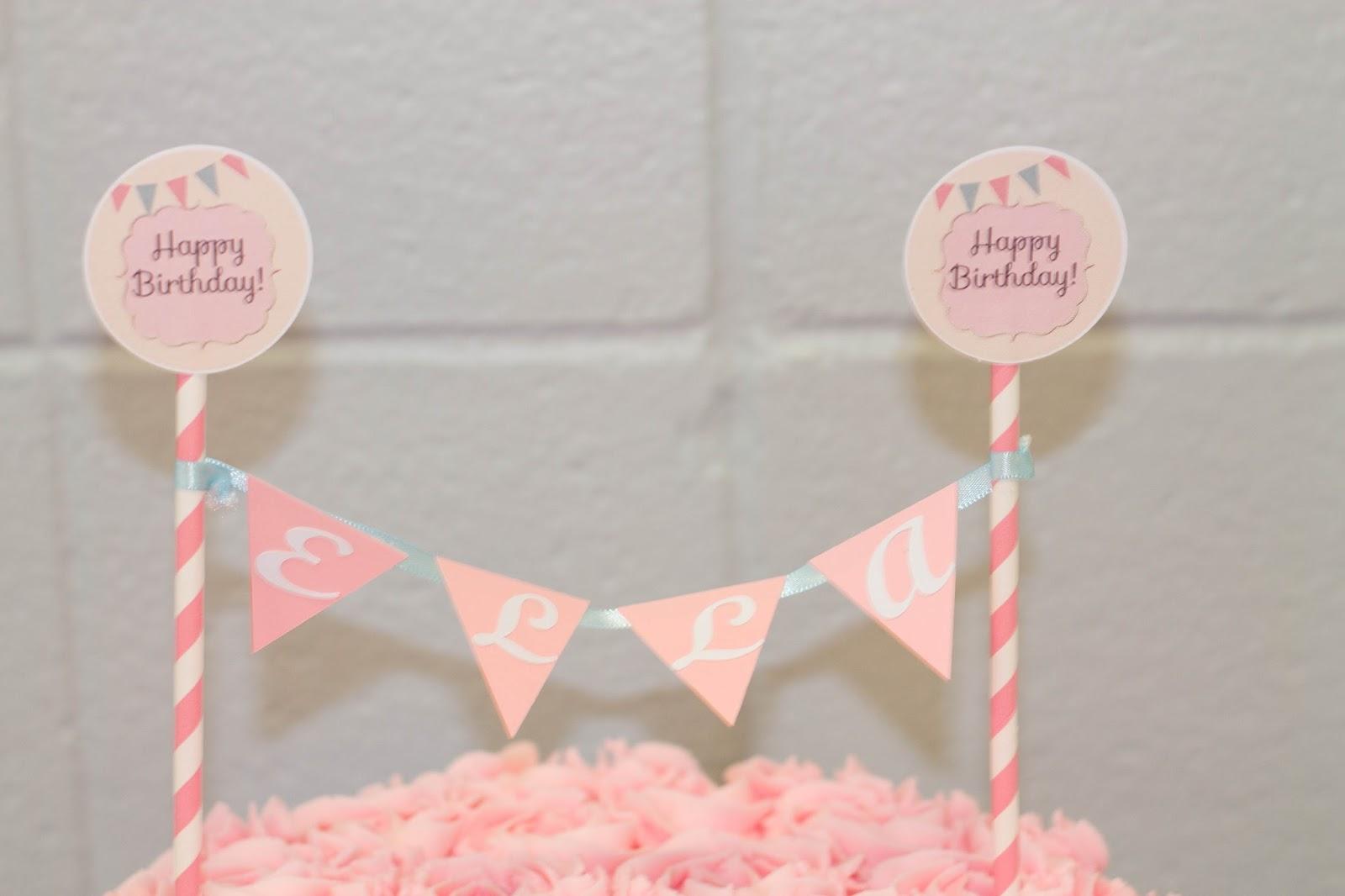 This Happy Life: Ella\'s 1st Birthday Party