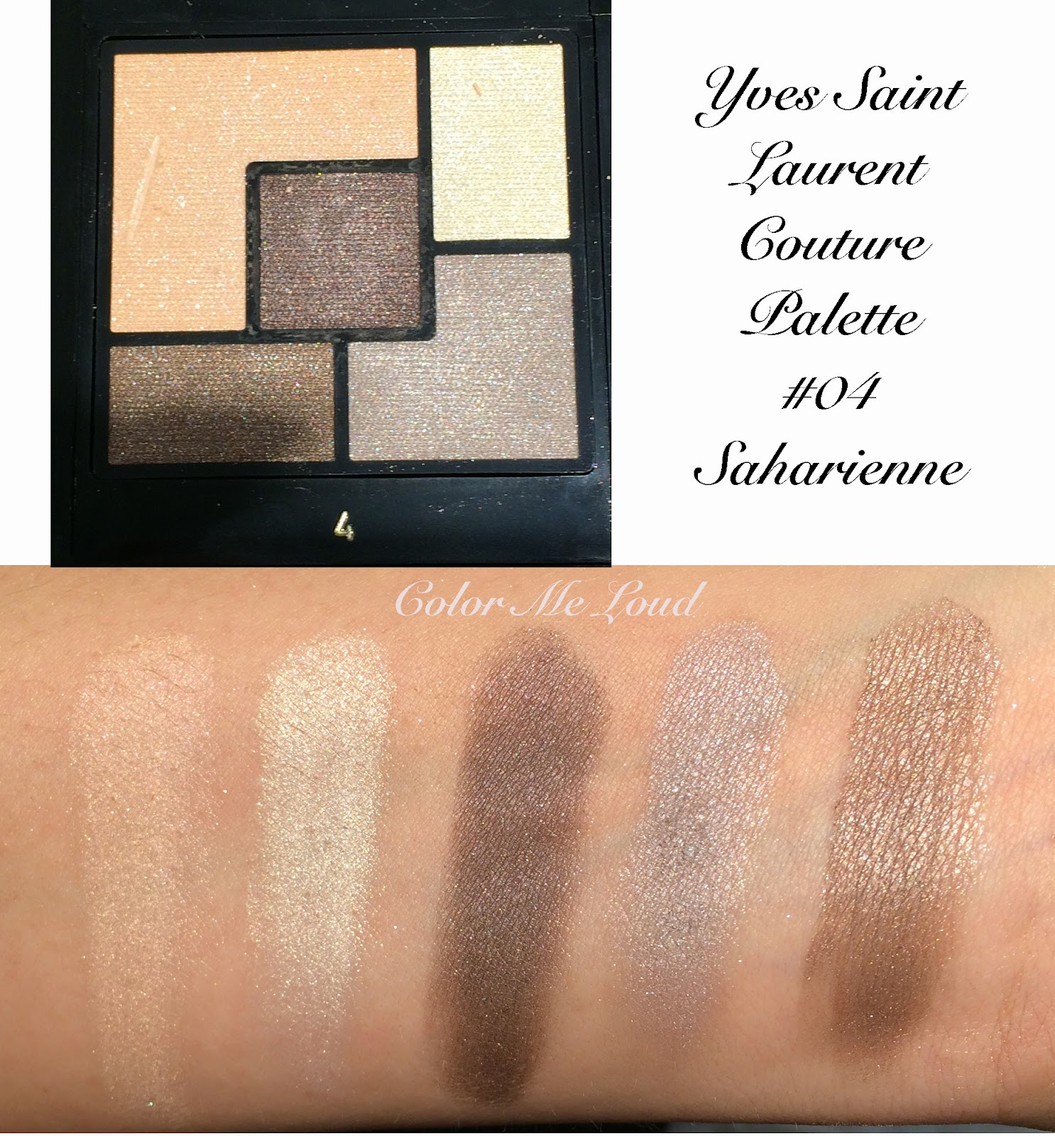 Yves saint laurent couture palette 5 couleurs 01 tuxedo 02 swatch yves saint laurent couture palette 5 couleurs 04 saharienne ccuart Gallery