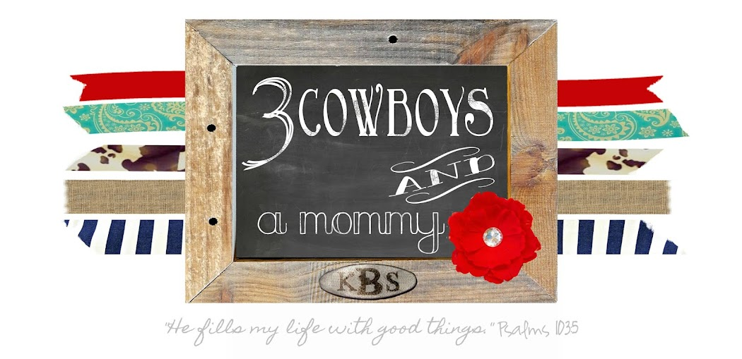 3 Cowboys and a mommy