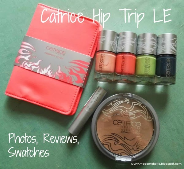 Catrice Hip Trip LE - Reviews, Photos, Swatches