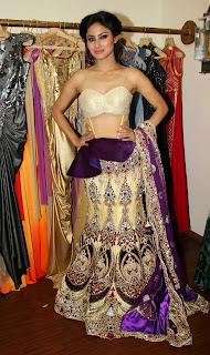 Mouni Roy  shoot rohit verma collection 8.JPG