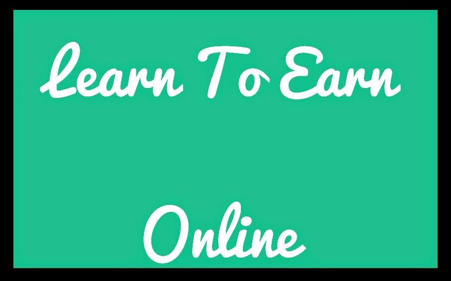 Learn to earn online