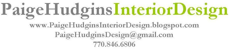 Paige Hudgins Interior Design About Me Fees Endorsements