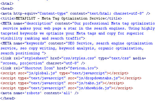 Meta Tag Analyzer : Seo référencement google