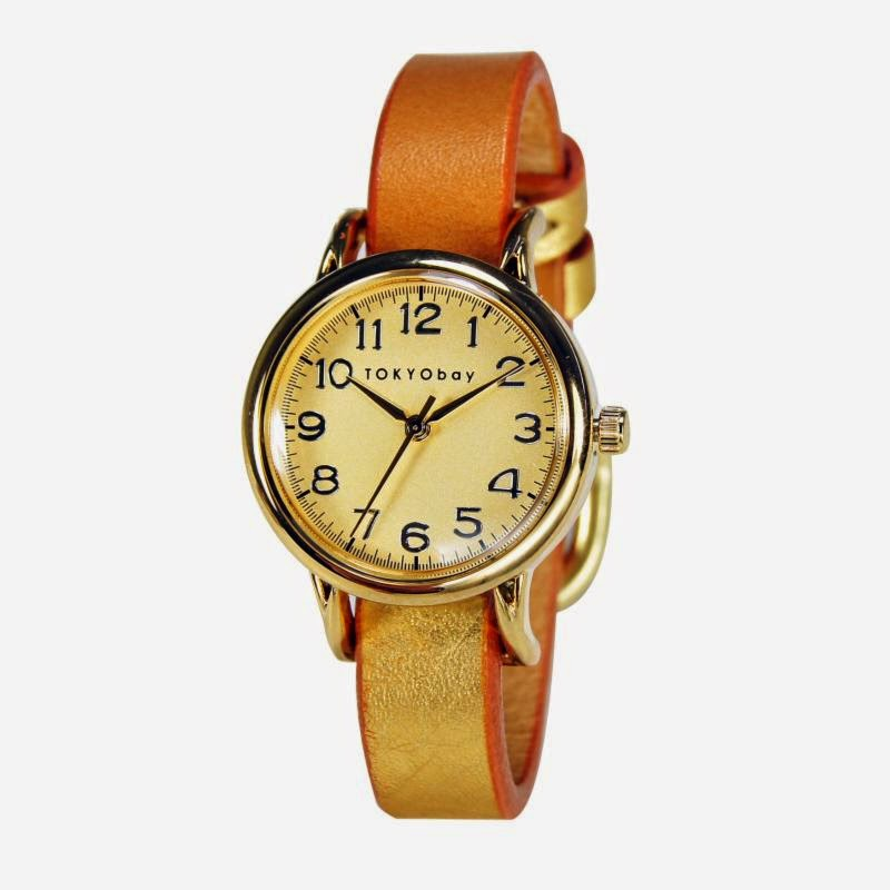 Samy Watch in Gold