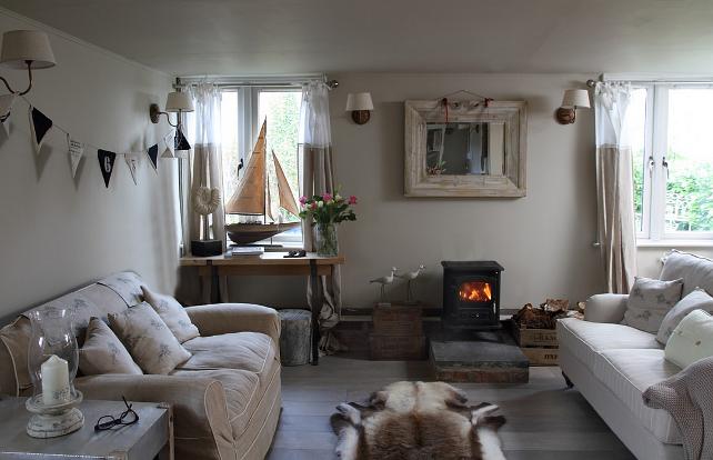 Moois en liefs romantische cottage for Romantische gordijnen