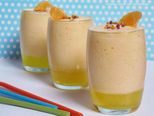 Geli-mousse de mandarina