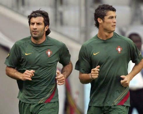 JUDI BOLA - Figo Membela Perayaan Ronaldo