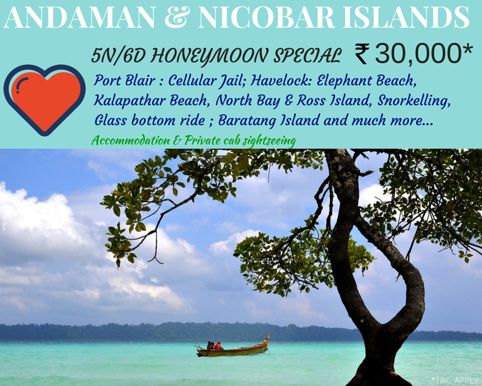 Cheap and budget Holiday packages to Andaman and Nicobar islands