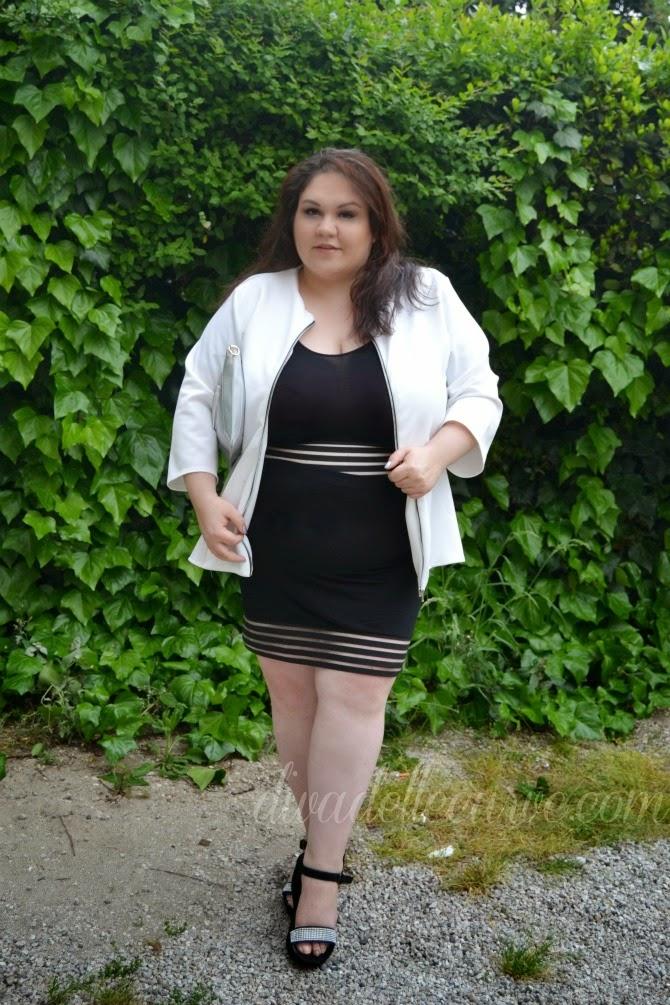 review della collezione curvy di nadia aboulhosn per boohoo