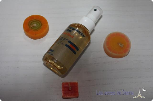 Protector Solar Isdin Hair Fluid