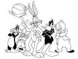 Baby Looney Bugs Bunny Coloring Pages