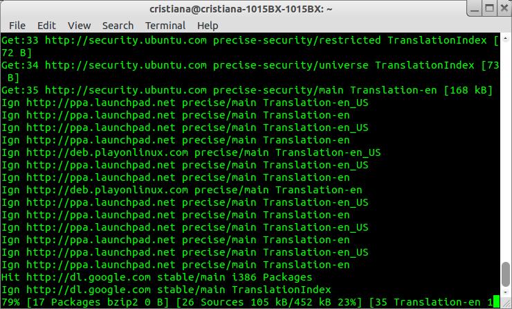Zorin OS Terminal update