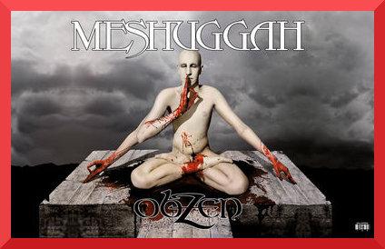Meshuggah obzen review album art
