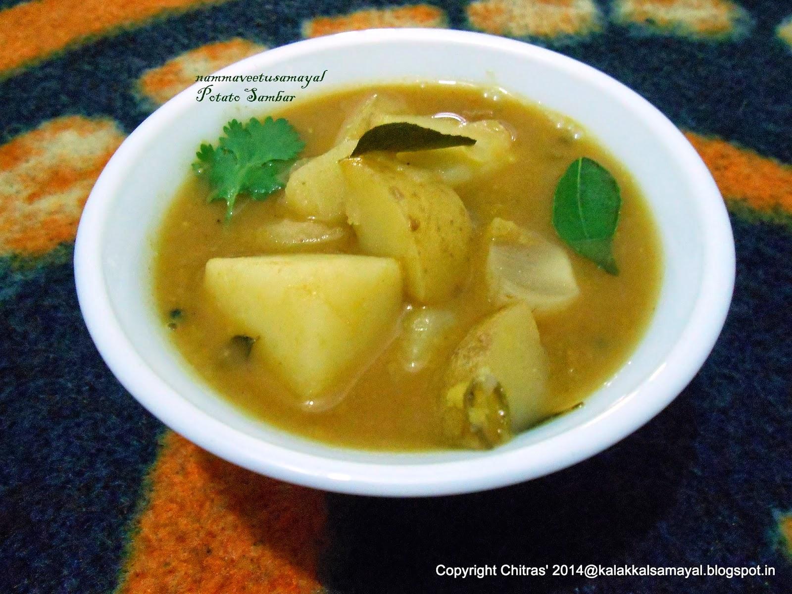 Potato Sambar