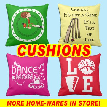 STAND UP AND CHEER CUSHIONS