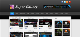 Super Gallery Premium Blogger Template